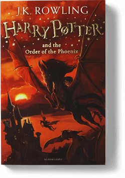 All harry potter books in order