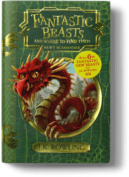 Books a million fantastic beasts and where to find them