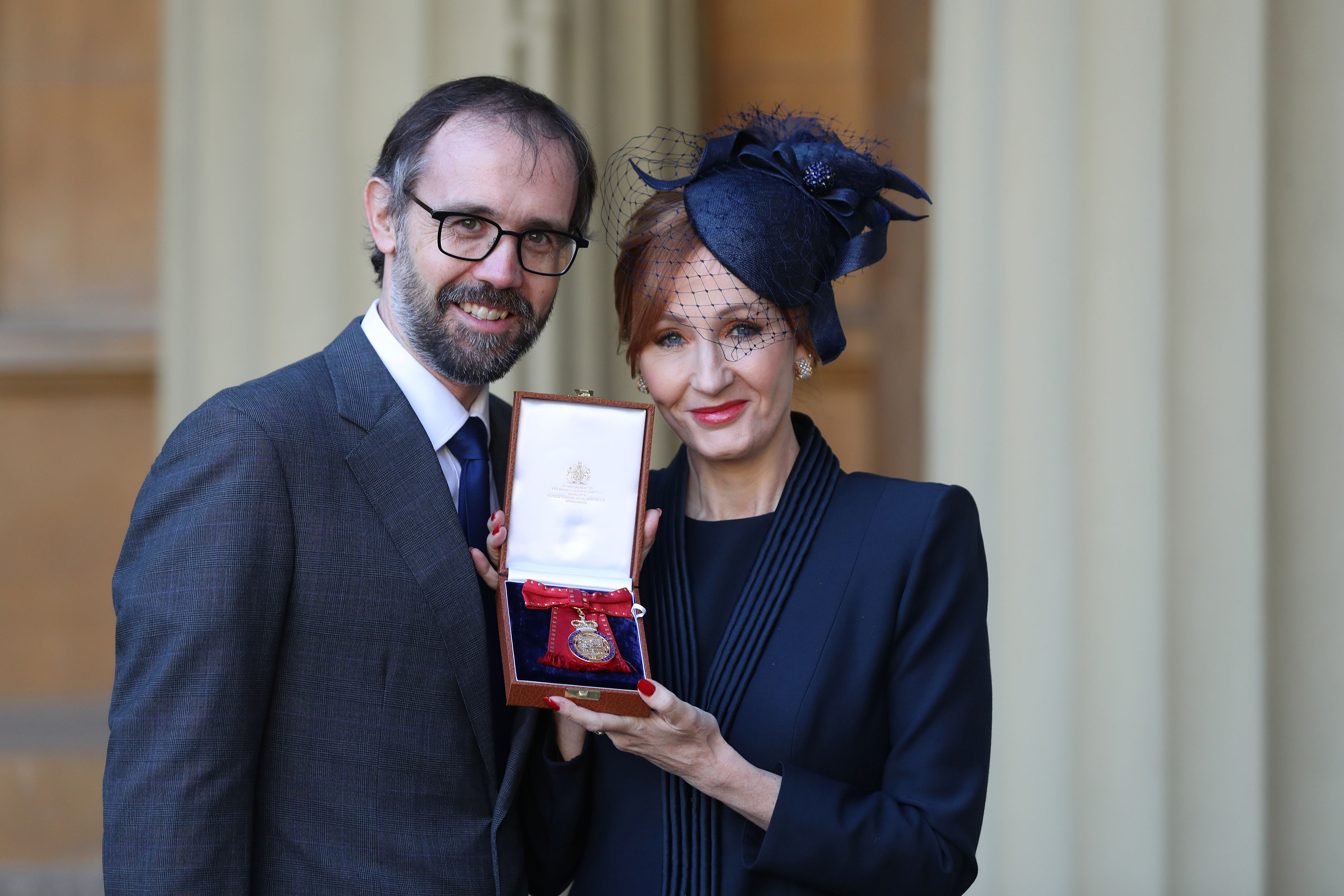 JK Rowling Receives Companion Of Honour