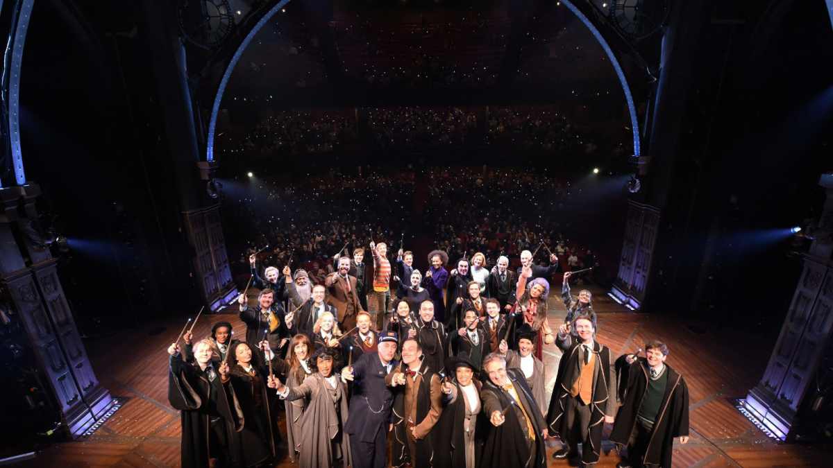 Cast and Audience of Cursed Child in Melbourne